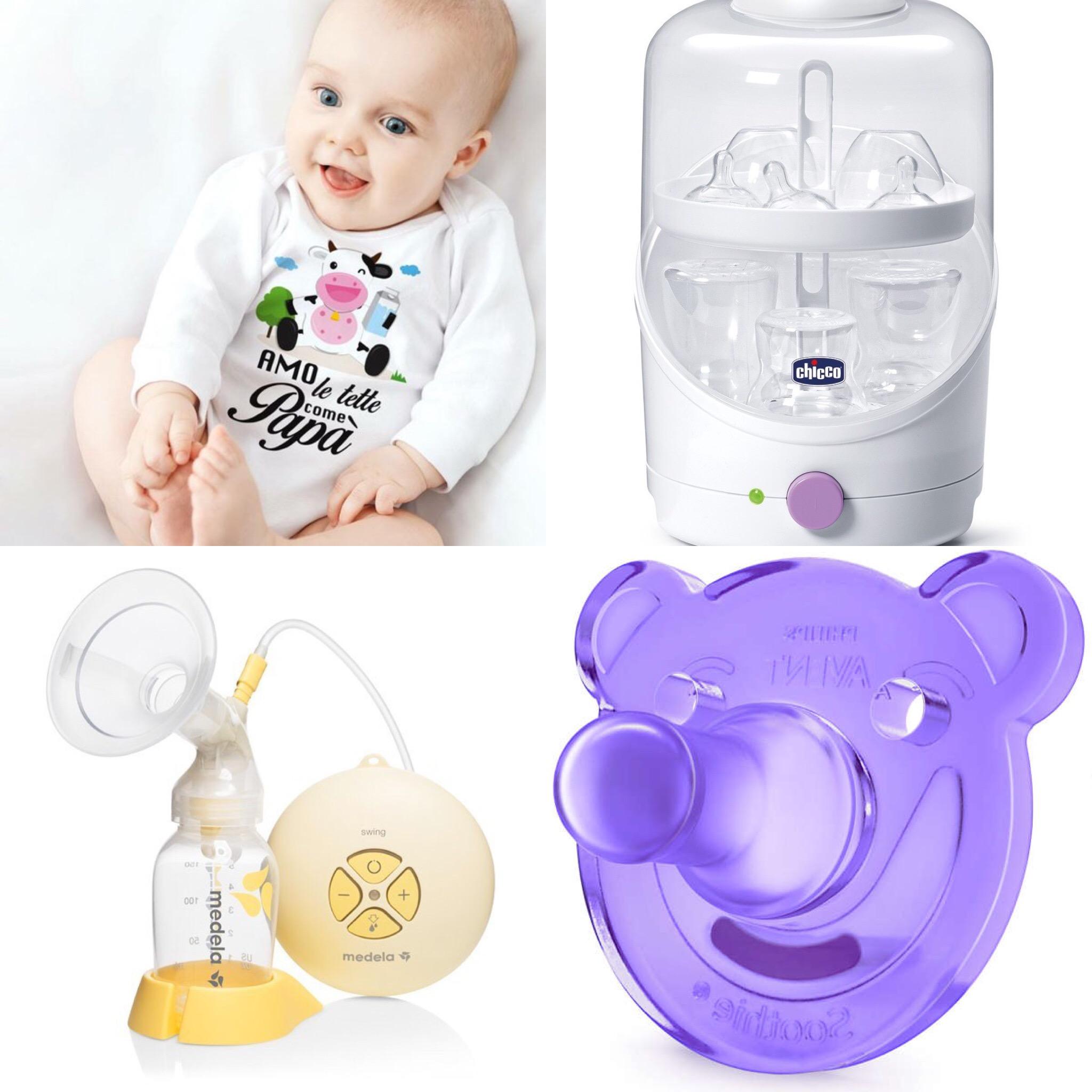 Cosa portare in ospedale per il parto + lista corredino neonato d624c64a1436