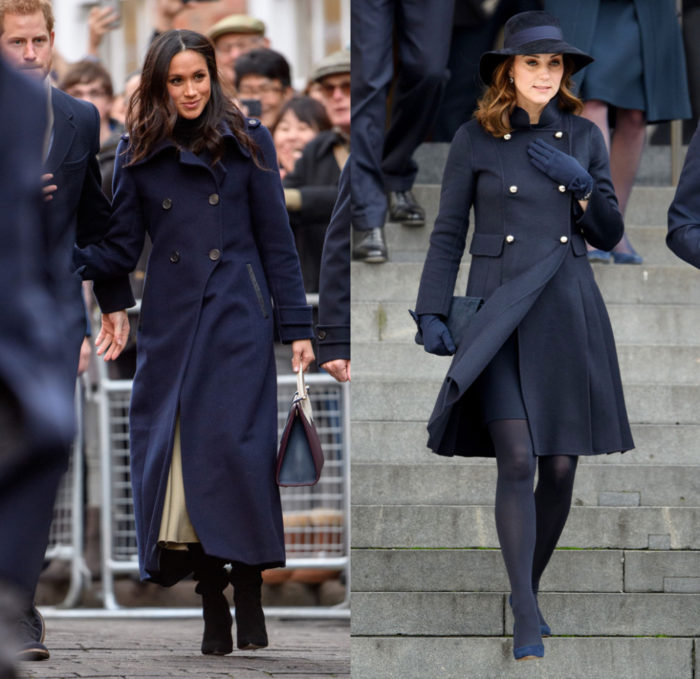 Meghan Markle e Kate Middleton: i look a confronto