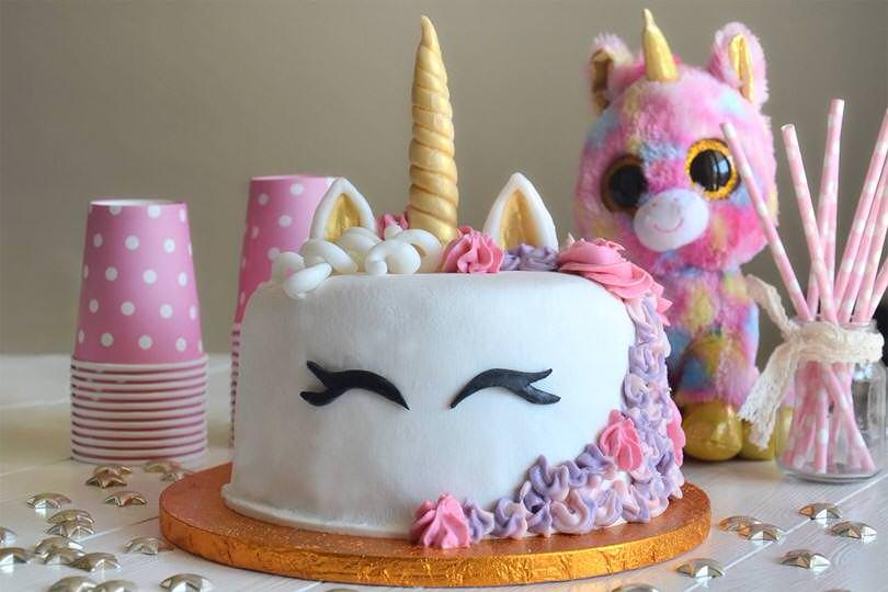 torta unicorno pasta di zucchero