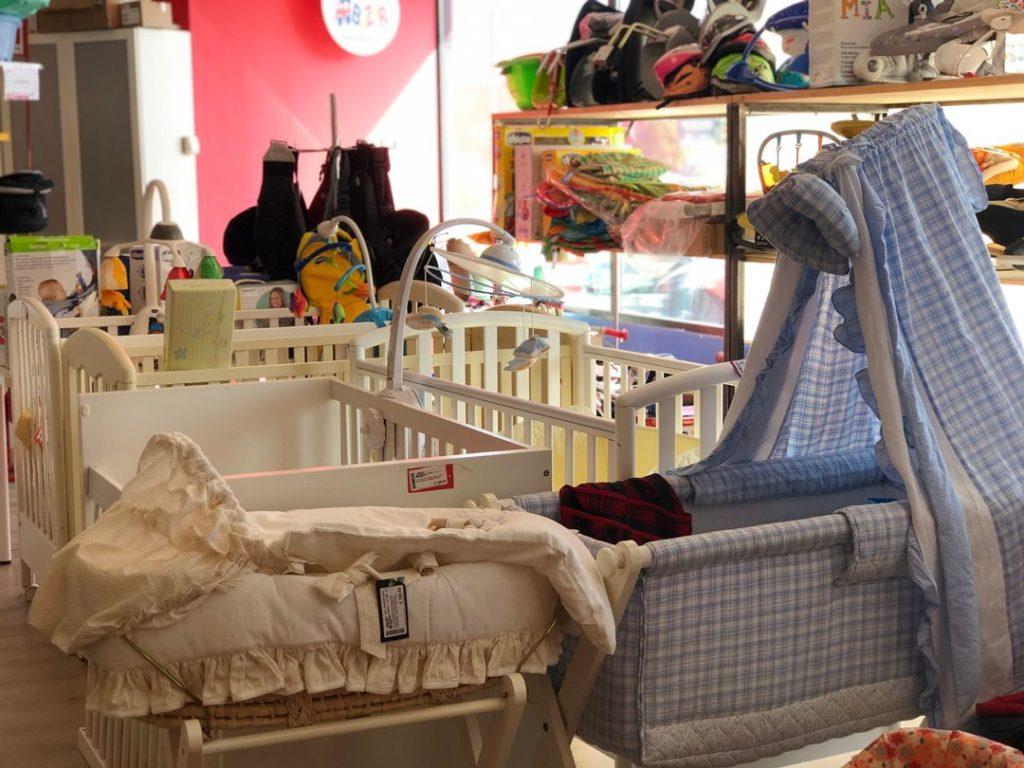 come acquistare e vendere usato per bambini Baby Bazar culle