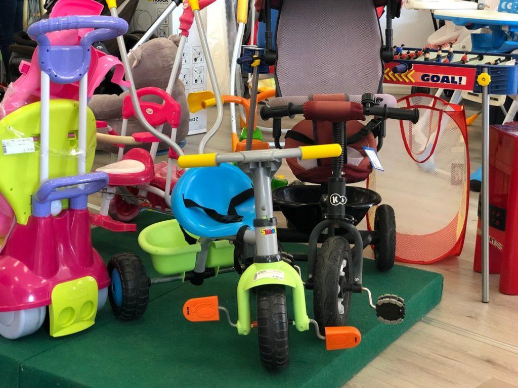come acquistare e vendere usato per bambini Baby Bazar tricicli
