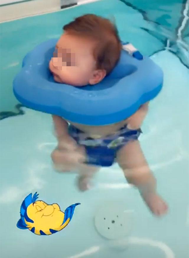spa-per-bambini-figlio-di-paola-caruso