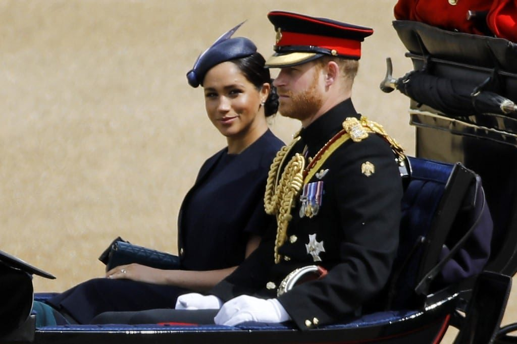 Meghan-Markle-post-parto-Trooping The Colour 2019