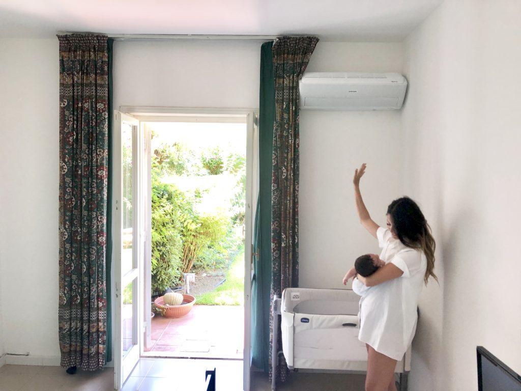 aria-condizionata-fa-male-ai-bambini-condizionatore-samsung-windfree-pure-recensione